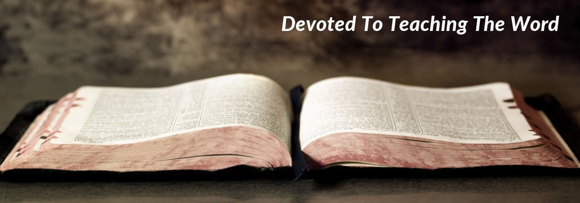 WBC Bible – Devoted To Teaching The Word