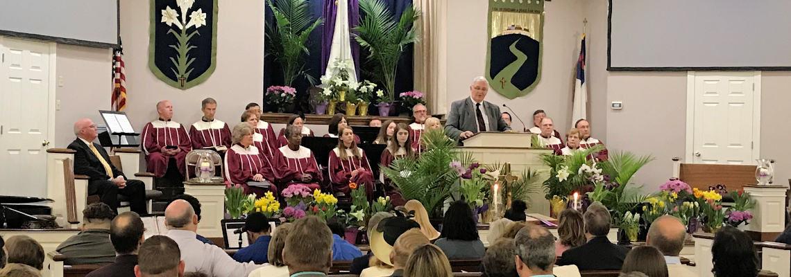 Pastor Chaya Preaching