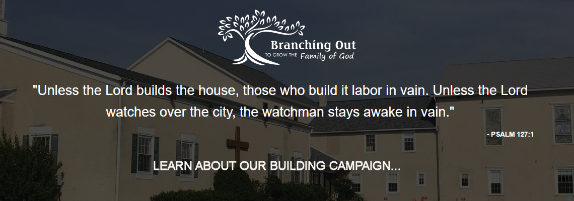 Learn About Our Building Campaign
